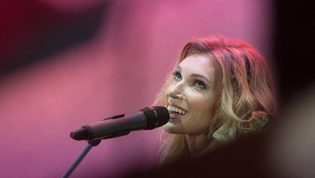 Певица Юлия Самойлова. Архив