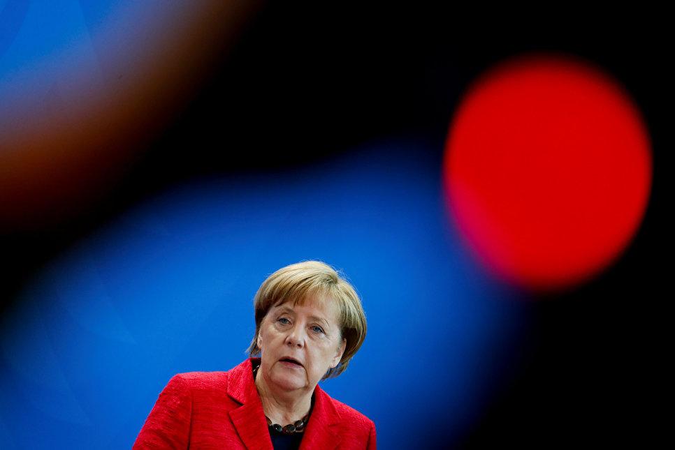 Партия Меркель лидирует нарегиональных выборах назападе Германии