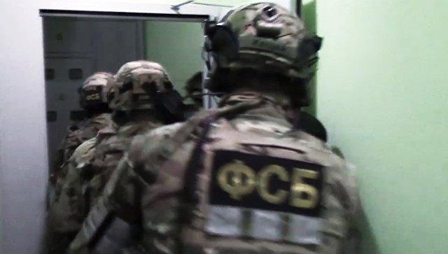 Сотрудники ФСБ РФ во время спецоперации. Архивное фото