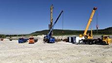 Старт строительства федеральной трассы Таврида в Крыму