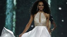 Мисс округа Колумбия Кара Маккаллоу во время конкурса Мисс США в Лас-Вегасе