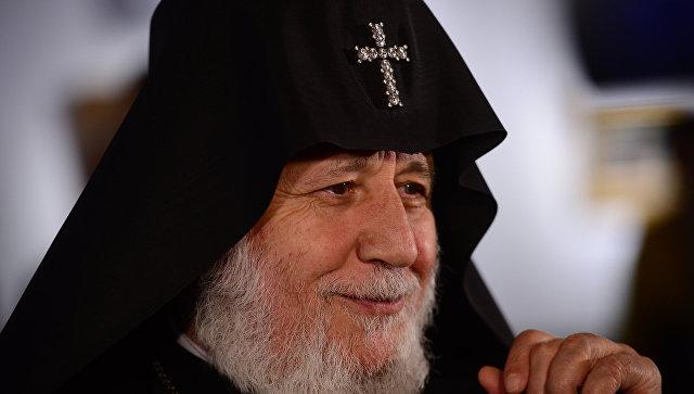 Католикос Всех Армян прибыл в Москву