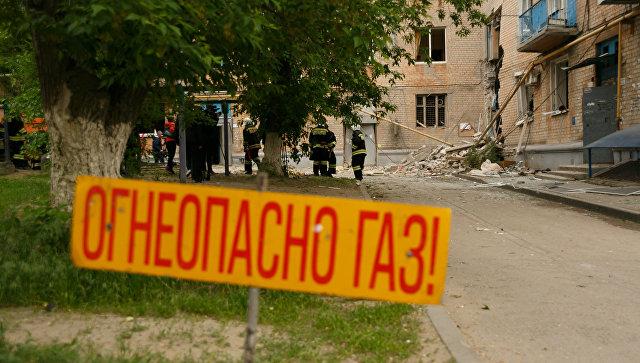Разбор завалов взорвавшегося дома вВолгограде прекращен из-за угрозы обрушения