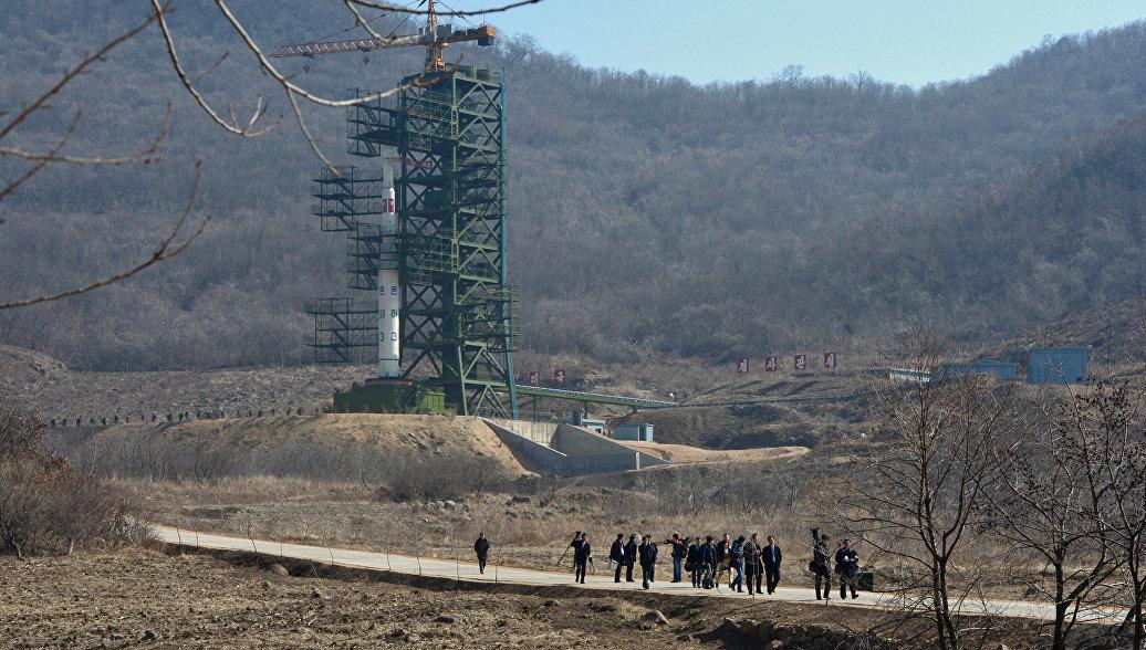 Сеул: запуск ракеты был осуществлен с западного побережья КНДР
