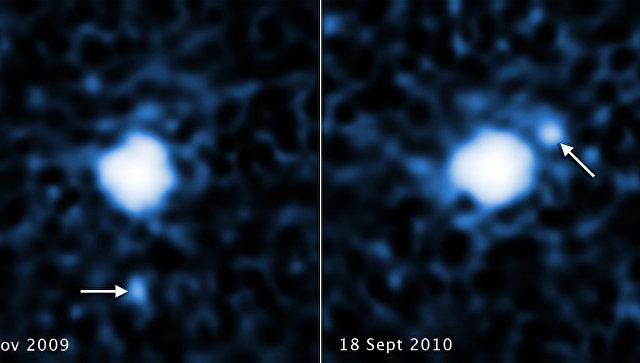 «Хаббл» отыскал луну укрупнейшей безымянной планеты Солнечной системы