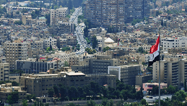 Вид на Дамаск. Сирия. Архивное фото