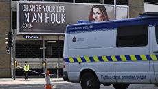 Полиция на месте взрывов у Манчестер-Арены. Архивное фото