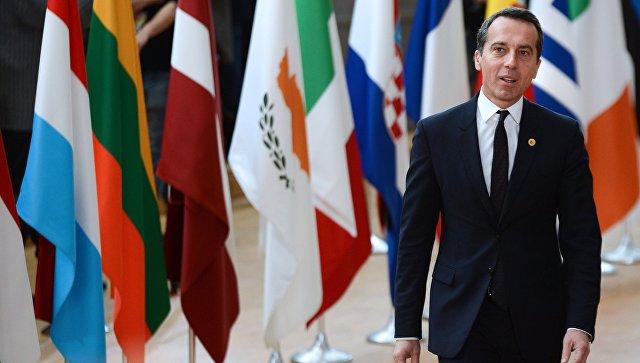 Канцлер Австрии выразил надежду на возможность отмены процесса Brexit
