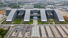Вид на новую штаб-квартиру НАТО в Брюсселе