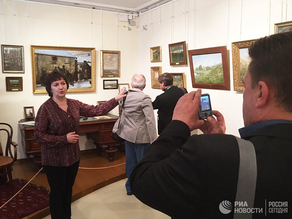 Экспозиция Дома-музея Исаака Левитана