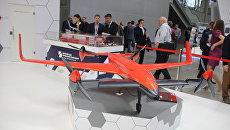 Беспилотный конвертоплан RHV-30 на выставке HeliRussia 2017 25 мая 2017 года