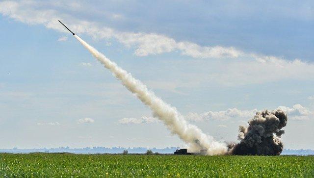 Испытания украинской ракеты. Архивное фото