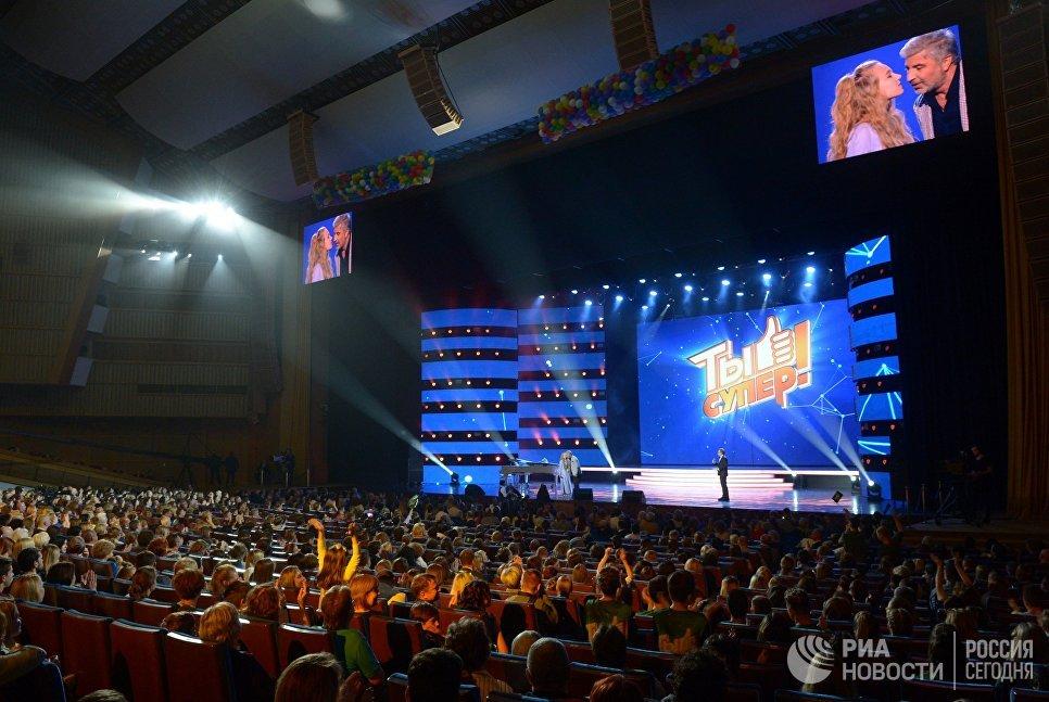 Финал шоу Ты супер! в Государственном Кремлевском дворце