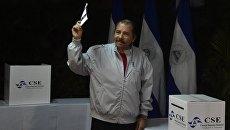 Президент Никарагуа Даниэль Ортега. Архивное фото