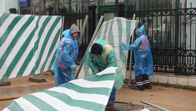 Кремль выразил сожаления родным погибших в итоге урагана в российской столице