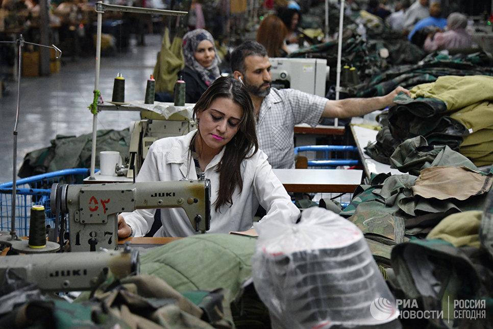 Государственная швейная фабрика в городе Млеха