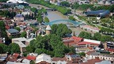 Вид на центр Тбилиси. Архивное фото