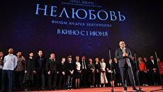 Режиссер Андрей Звягинцев на премьере фильма Нелюбовь. Архивное фото.