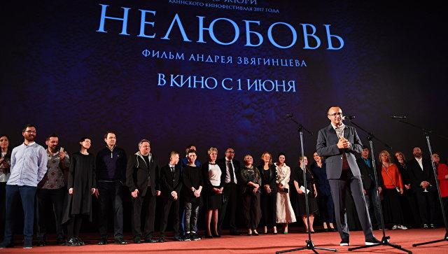 Режиссер Андрей Звягинцев на премьере фильма Нелюбовь. Архивное фото