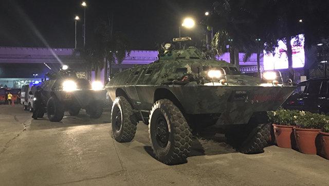 Филиппинские власти подтвердили гибель 34 человек после нападения в отеле