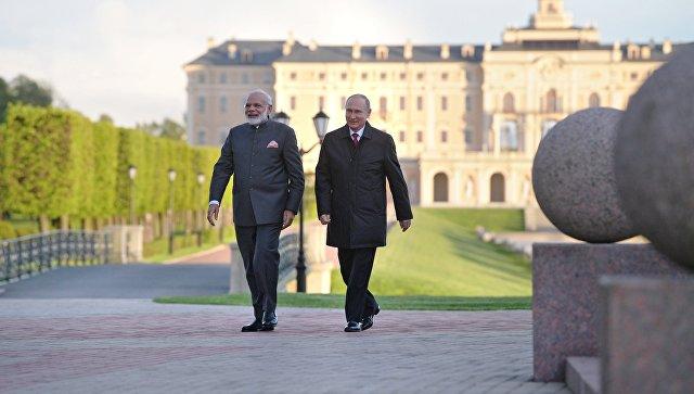 Путин: вПетербурге уменя всегда хорошее настроение