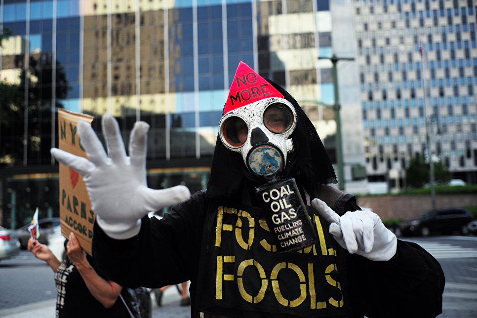 США выходят изПарижского соглашения обизменении климата— Трамп