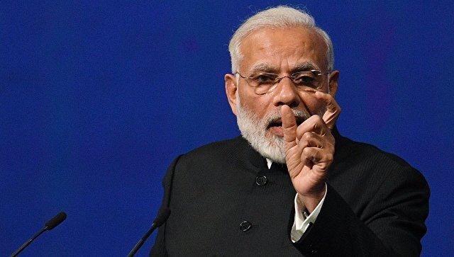 Выступление премьер-министра Индии Нарендра Моди на ПМЭФ 2017