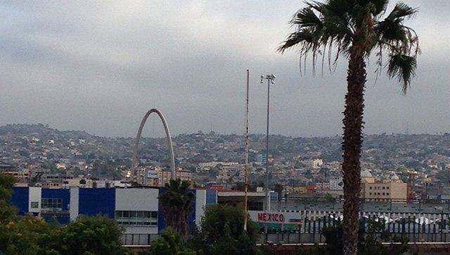 Вид на мексиканскую Тихуану. Архивное фото