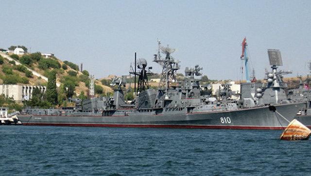 Сторожевой корабль Черноморского флота (ЧФ) Сметливый, архивное фото