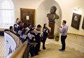 Молодым экологам рассказали о деятельности Русского географического общества в штаб-квартире организации в Санкт-Петербурге