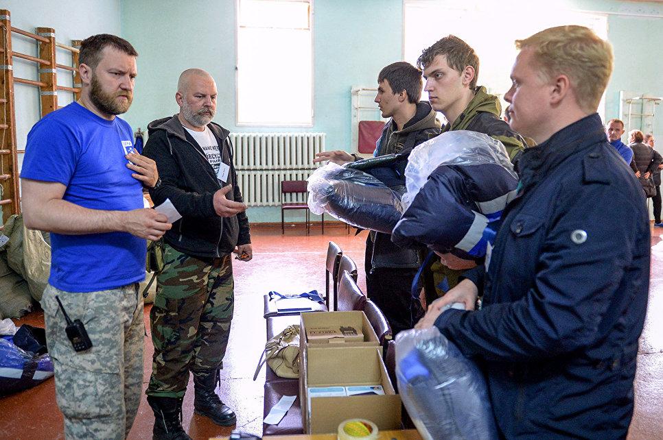 Участники экспедиции Гогланд-2017 прошли тренинги по туризму и безопасности