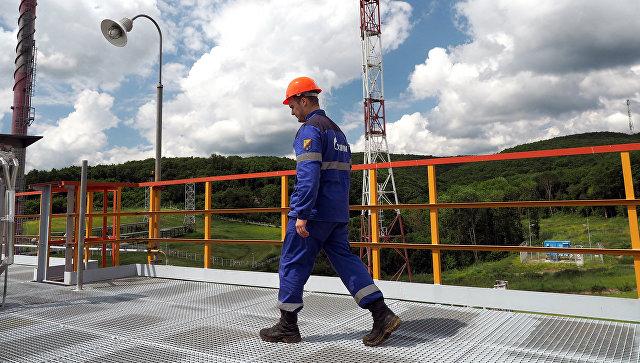 Комплекс подготовки и транспортировки газа. Архивное фото