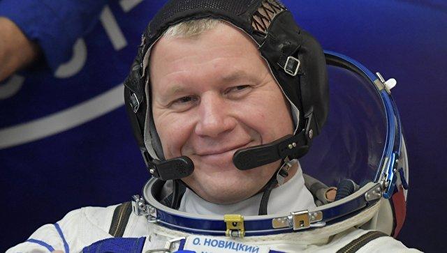 Космонавт Роскосмоса Олег Новицкий. Архивное фото