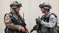 Военнослужащие Черногории и США во время совместных учений. Архивное фото