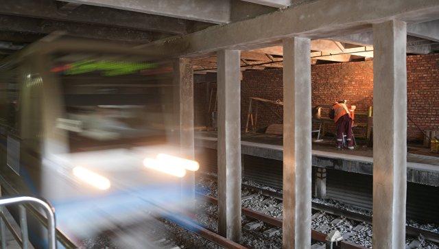 Реконструкция станции метро Фили в Москве. Архивное фото