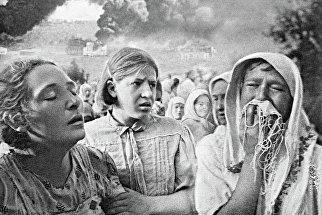 Великая Отечественная война 1941-1945 гг. 23 июня 1941 года в Киеве. Район Грушки