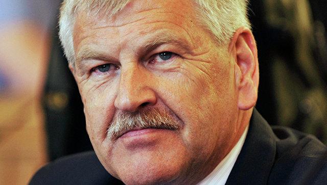 Бывший глава неонацистской Национал-демократической партии Германии Удо Фойгт, архивное фото