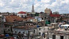Жилые кварталы в районе Старая Гавана. Архивное фото