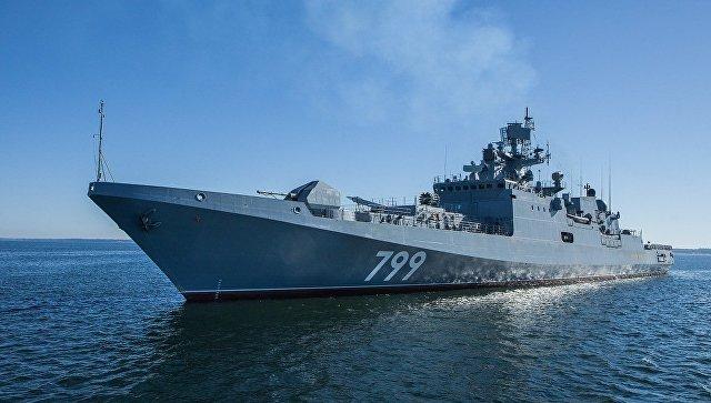 Фрегат Адмирал Макаров пополнит Черноморский флот в ноябре, 2017