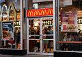 """Ресторан быстрого питания """"Макдоналдс"""" в Нью-Йорке"""