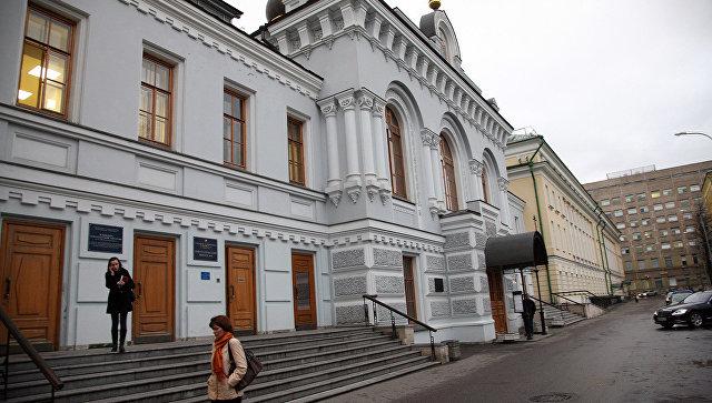 Первая городская клиническая больница имени Пирогова. Архивное фото