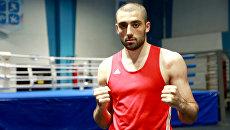 Боксер Георгий Кушиташвили. Архивное фото