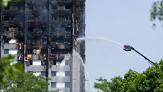 Пожар в многоэтажном жилом доме на западе Лондона. Архивное фото