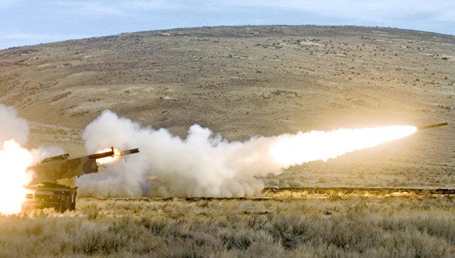 Американская высокомобильная ракетно-артиллерийская система оперативно-тактического назначения HIMARS. Архивное фото