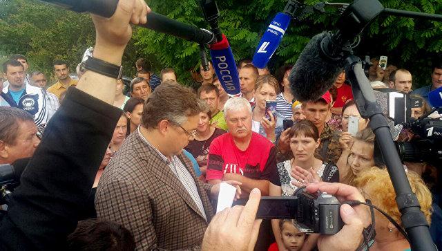 Губернатор Ставропольского края пояснил Путину, «где деньги»