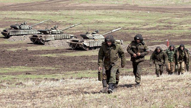 Боевые действия Донбассе. Архивное фото