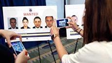 Пресс-конференция в Вашинтоне, на которой объявили о выдаче ордеров на арест охранников президента Турции Реджепа Тайипа Эрдогана. 15 июня 2017