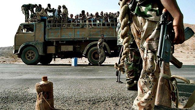 Солдаты армии Эритреи. Архивное фото
