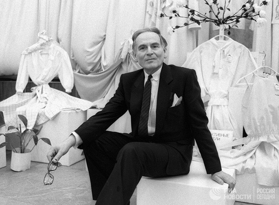 Французский модельер Пьер Карден