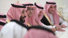 Наследный принц Саудовской Аравии Мухаммед бен Сальман Аль Сауд. Архивное фото